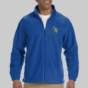 North Shore Embroidered Adult Micro Fleece Jacket