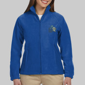 North Shore Embroidered Ladies Micro Fleec Jacket